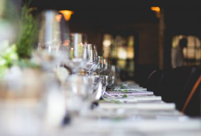 Italiensk restaurang med utsökt mat